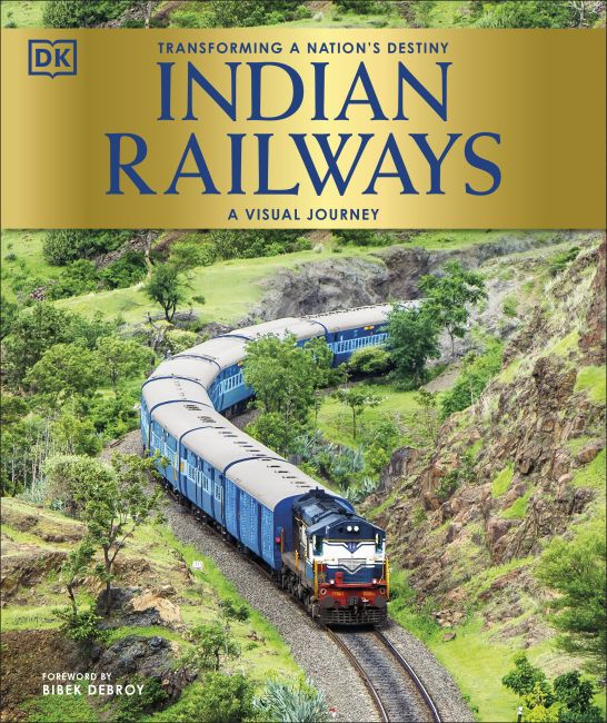 Hardback cover of Indian Railways