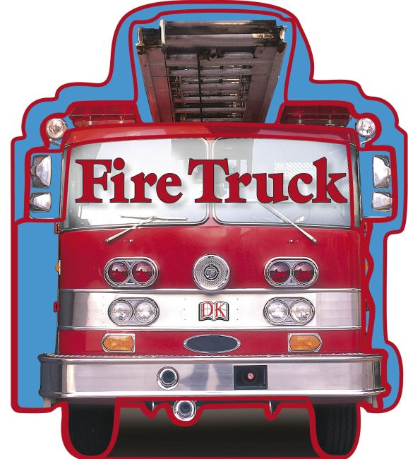 Board book cover of SHAPED BOARD BOOKS: Fire Trucks