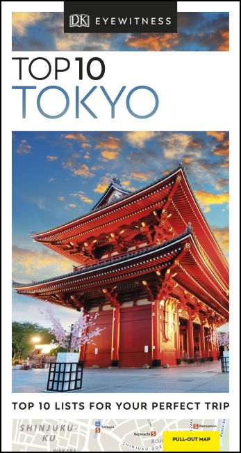 Paperback cover of Top 10 Tokyo