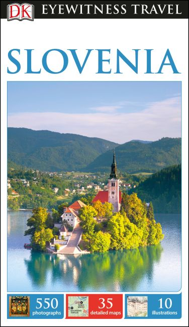 Flexibound cover of DK Eyewitness Slovenia
