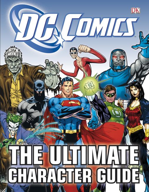 Hardback cover of DC Comics The Ultimate Character Guide