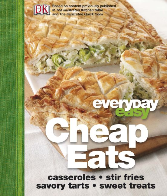 eBook cover of Everyday Easy Cheap Eats