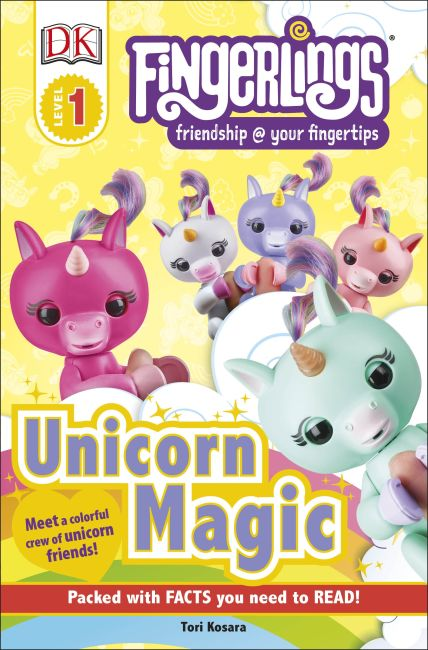 Paperback cover of Fingerlings Unicorn Magic