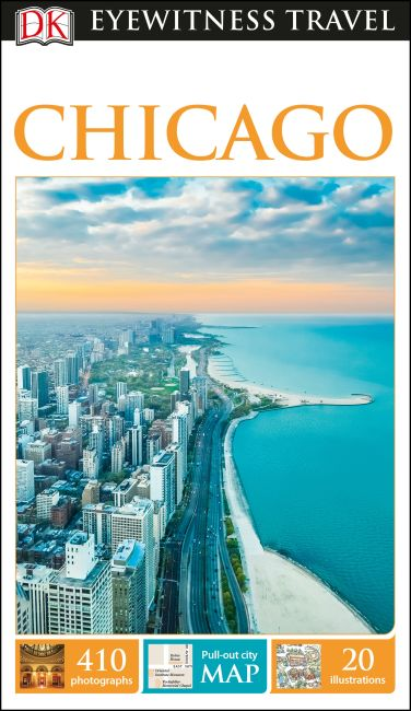 Flexibound cover of DK Eyewitness Travel Guide Chicago