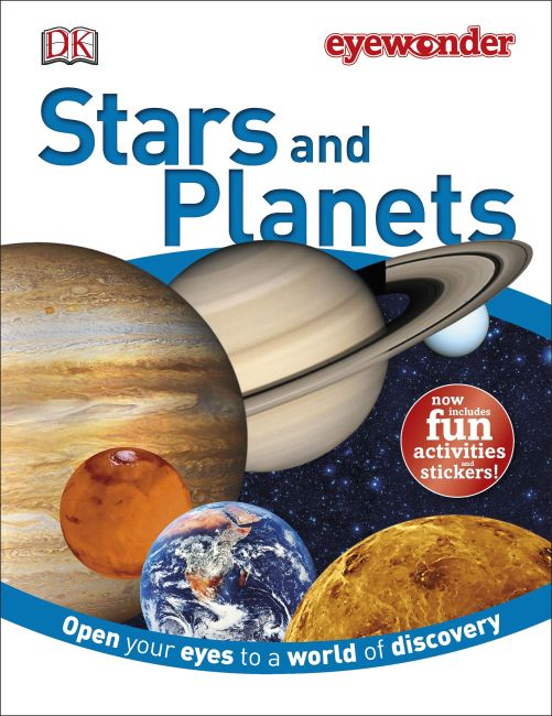 eBook cover of Stars and Planets