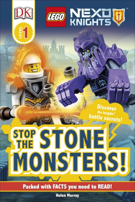 Hardback cover of LEGO® NEXO KNIGHTS Stop the Monsters!