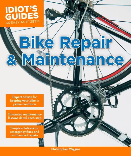 Paperback cover of Bike Repair and Maintenance