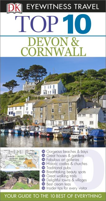 eBook cover of Top 10 Devon and Cornwall