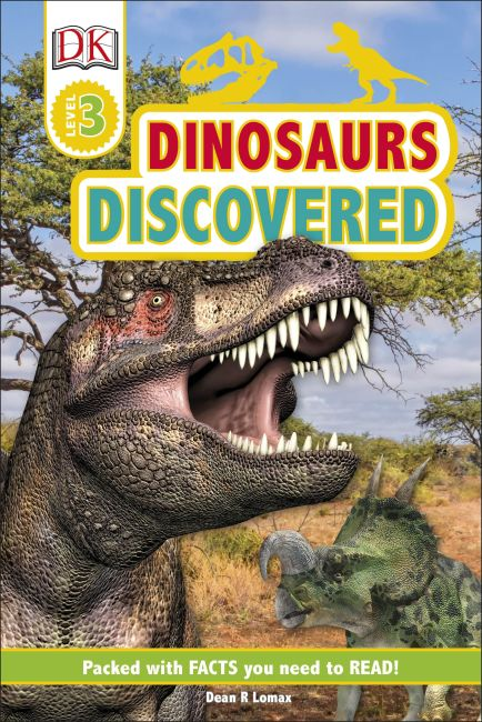 Hardback cover of Dinosaurs Discovered