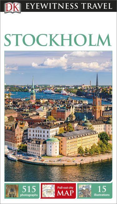 Paperback cover of DK Eyewitness Stockholm