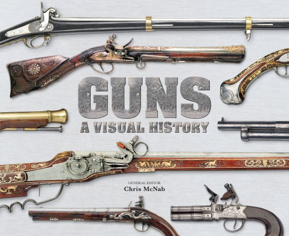 Hardback cover of Guns A Visual History