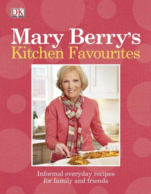 eBook cover of Mary Berry's Kitchen Favourites