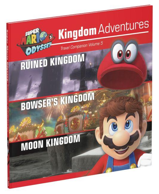 Hardback cover of Super Mario Odyssey Kingdom Adventures Vol 5