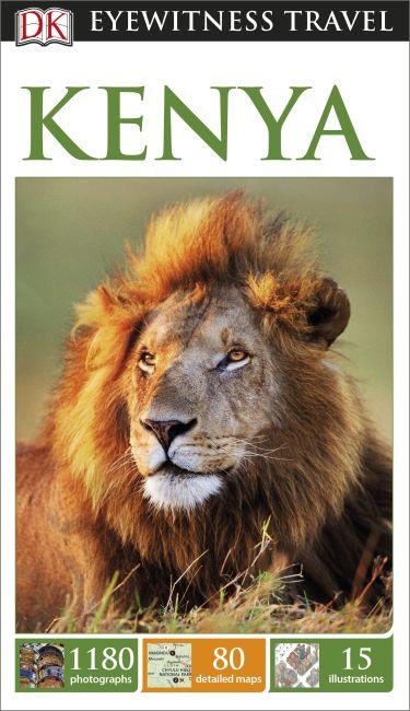 Flexibound cover of DK Eyewitness Travel Guide Kenya