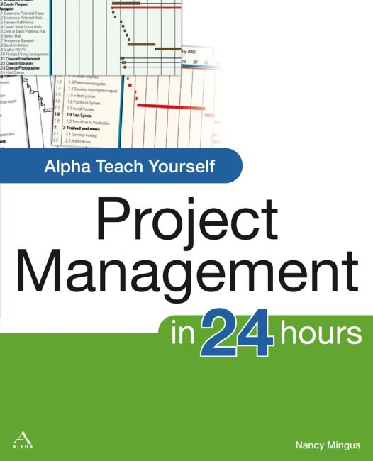 eBook cover of Alpha Teach Yourself Project Management