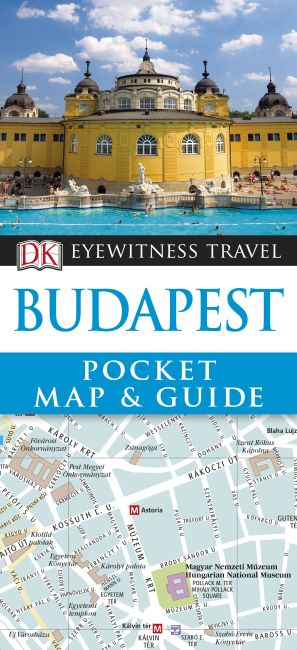 Paperback cover of Budapest Pocket Map and Guide