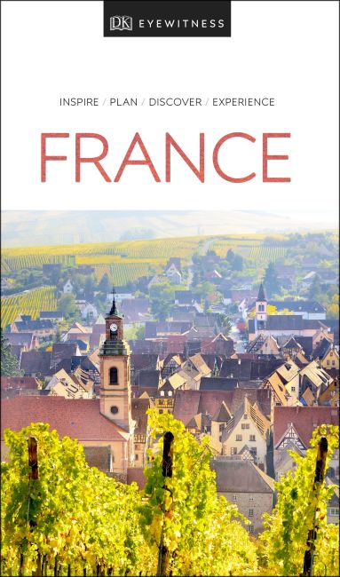 Paperback cover of DK Eyewitness Travel Guide France