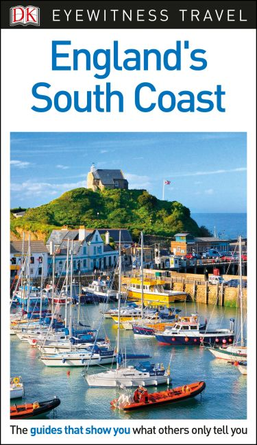 Flexibound cover of DK Eyewitness Travel Guide England's South Coast
