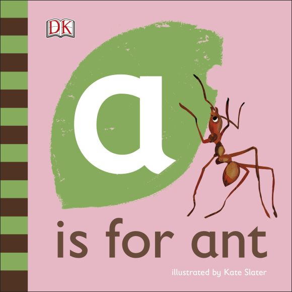 Board book cover of A is for Ant