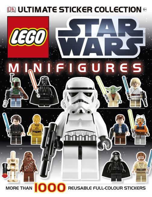 Paperback cover of LEGO® Star Wars Minifigures Ultimate Sticker Collection