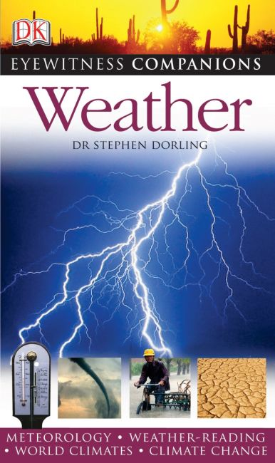 eBook cover of Eyewitness Companions: Weather
