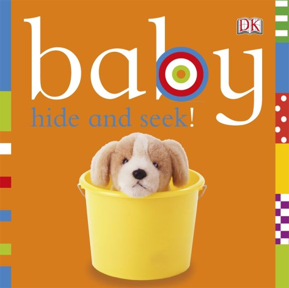 Board book cover of Baby: Hide and Seek!