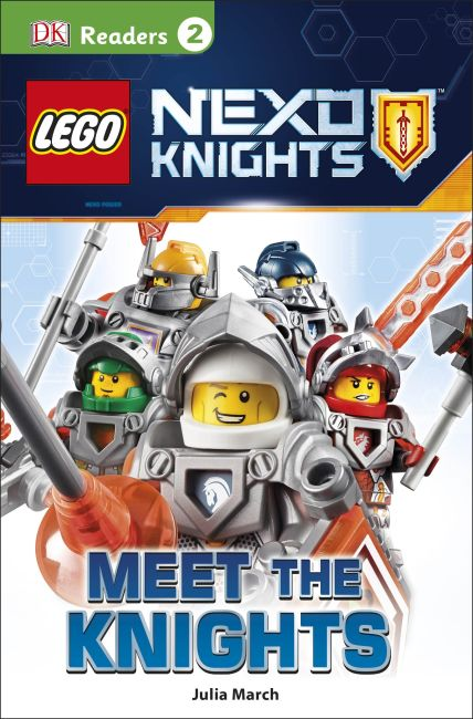 Paperback cover of DK Readers L2: LEGO NEXO KNIGHTS: Meet the Knights