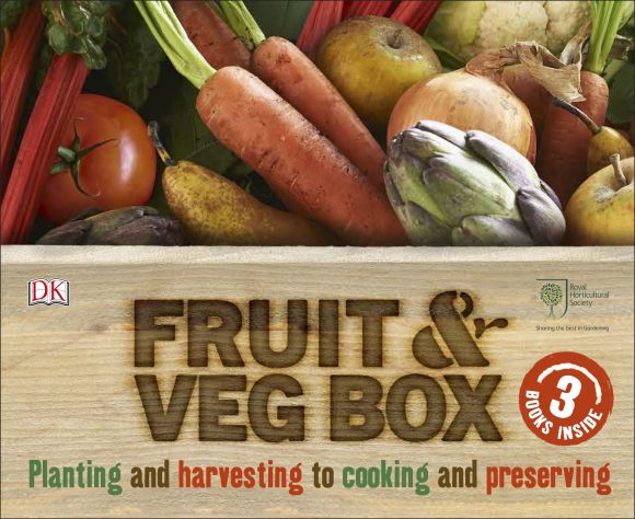 Slipcase of Editions cover of RHS Fruit & Veg Box