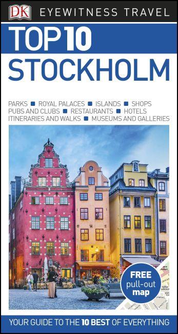 Paperback cover of DK Eyewitness Top 10 Stockholm