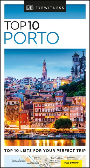 Paperback cover of DK Eyewitness Top 10 Porto