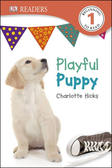 Paperback cover of DK Readers L1: Playful Puppy