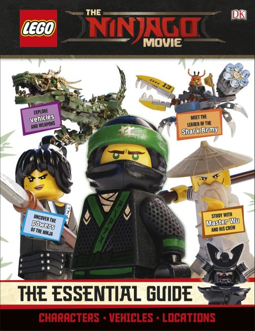 Hardback cover of The LEGO® NINJAGO® Movie™ The Essential Guide
