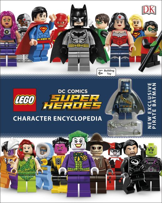 Hardback cover of LEGO DC Comics Super Heroes Character Encyclopedia