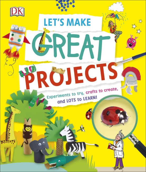 Hardback cover of Let's Make Great Projects