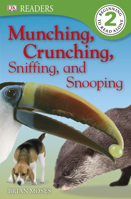 eBook cover of DK READERS: Munching, Crunching, Sniffing, and Snooping