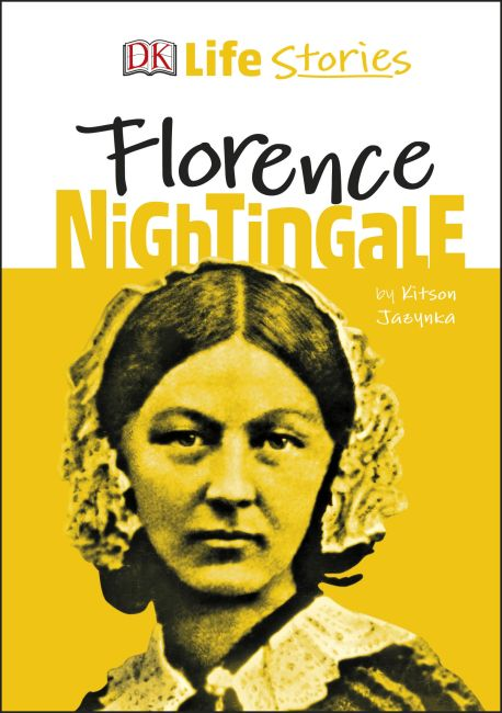 Hardback cover of DK Life Stories Florence Nightingale