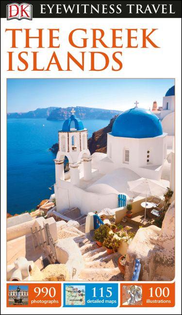 eBook cover of DK Eyewitness Travel Guide The Greek Islands