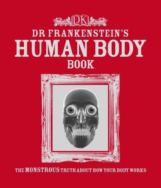 eBook cover of Dr Frankenstein's Human Body Book