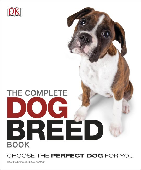 Paperback cover of The Complete Dog Breed Book