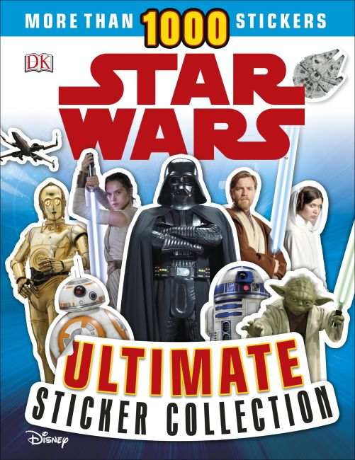 Paperback cover of Star Wars Ultimate Sticker Collection