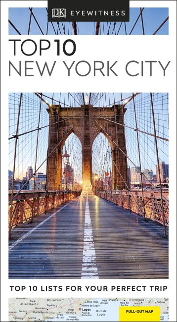 Paperback cover of Top 10 New York City