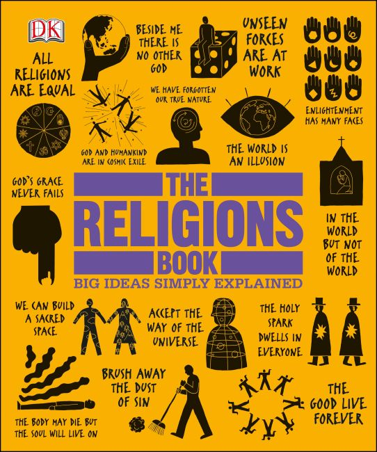 Hardback cover of The Religions Book
