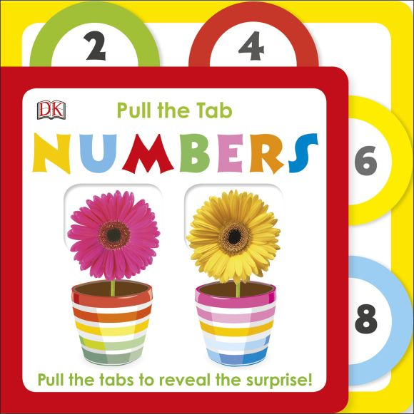 Board book cover of Pull the Tab: Numbers
