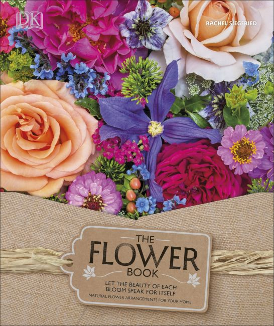 Hardback cover of The Flower Book