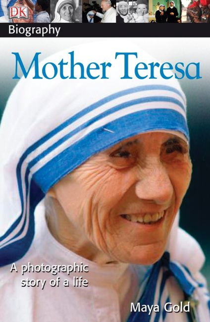 Paperback cover of DK Biography: Mother Teresa