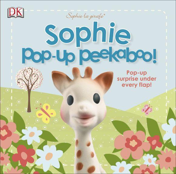 Board book cover of Sophie la girafe: Pop-Up Peekaboo Sophie!