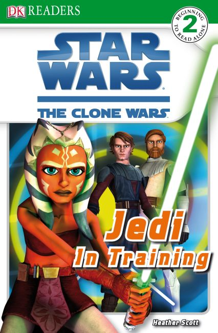 Paperback cover of DK Readers L2: Star Wars: The Clone Wars: Jedi in Training