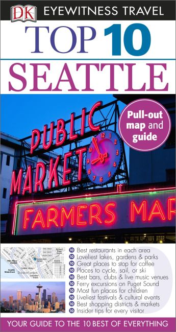Paperback cover of Top 10 Seattle