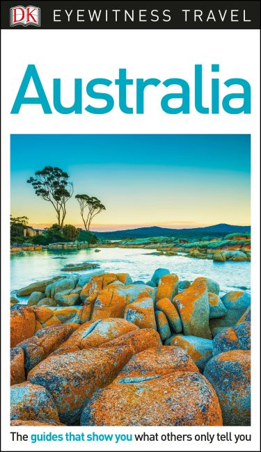 Flexibound cover of DK Eyewitness Travel Guide Australia