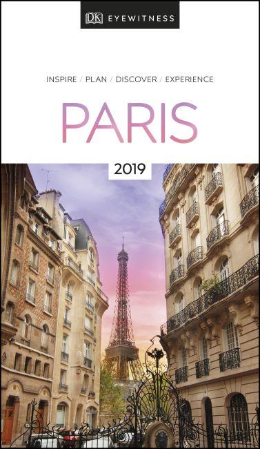 Paperback cover of DK Eyewitness Travel Guide Paris